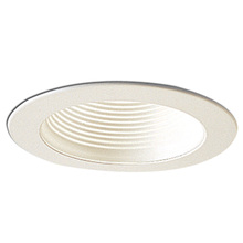"Nora NS-40 - 4"" WHITE BAFFLE TRIM -  R20"