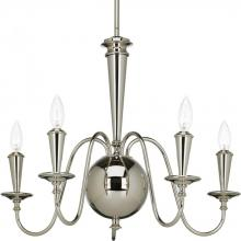 Progress P4713-104 - 5-60W CAND CHANDELIER