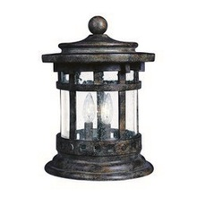 Maxim 3132CDSE - Santa Barbara Cast 3-Light Outdoor Deck Lantern