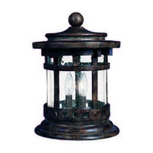 Maxim 40032CDSE - Santa Barbara VX 3-Light Outdoor Deck Lantern