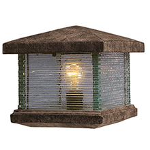 Maxim 48736CLET - Triumph VX 1-Light Outdoor Deck Lantern