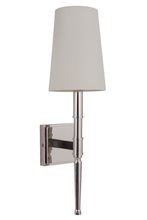 Craftmade 44661-PLN - Ella 1 Light Wall Sconce in Polished Nickel