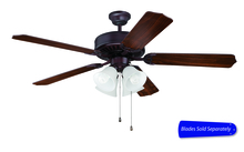 "Craftmade E203OB - Pro Builder 203 52"" Ceiling Fan with Light in Oiled Bronze (Blades Sold Separately)"