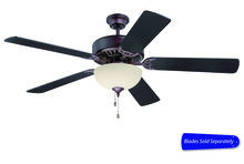 "Craftmade C208OB - Pro Builder 208 52"" Ceiling Fan with Light in Oiled Bronze (Blades Sold Separately)"
