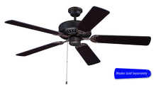 "Craftmade C52AG - Pro Builder 52"" Ceiling Fan in Aged Bronze Textured (Blades Sold Separately)"