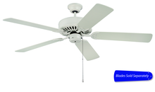 "Craftmade C52AW - Pro Builder 52"" Ceiling Fan in Antique White (Blades Sold Separately)"