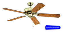 "Craftmade C52PB - Pro Builder 52"" Ceiling Fan in Polished Brass (Blades Sold Separately)"