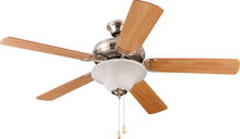 "Craftmade DCF52BNK5C1 - Decorator's Choice with Bowl Light Kit 52"" Ceiling Fan with Blades and Light in Brushed Poli"