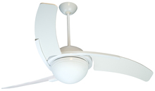 "Craftmade JU54W3 - Juna 54"" Ceiling Fan with Blades and Light in White"