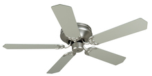 "Craftmade K11001 - Pro Contemporary Flushmount 52"" Ceiling Fan Kit in Brushed Satin Nickel"