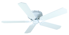 "Craftmade K11006 - Pro Contemporary Flushmount 52"" Ceiling Fan Kit in White"