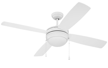 "Craftmade LAV52MWW4-NRG - Laval 52"" NRG Ceiling Fan with Blades and Light in Matte White"