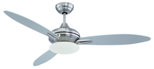 "Craftmade LO52SS3 - Loris 52"" Ceiling Fan with Blades and Light in Stainless Steel"