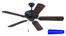 "Craftmade OPXL52FB - Outdoor Patio 52"" Ceiling Fan in Flat Black (Blades Sold Separately)"