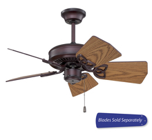 "Craftmade PI30OB - Piccolo 30"" Ceiling Fan in Oiled Bronze (Blades Sold Separately)"