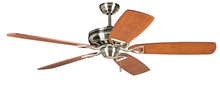 "Craftmade SUA56BNK - Supreme Air 56"" Ceiling Fan in Brushed Polished Nickel (Blades Sold Separately)"