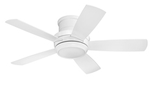 "Craftmade TMPH44W5 - Tempo 44"" Hugger Ceiling Fan with Blades and LED Light Kit in White"