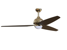 "Craftmade TNT58PLN3 - Trento 58"" Ceiling Fan (Blades Included) in Polished Nickel"
