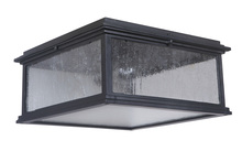 Craftmade Z3227-11 - 1 Light Midnight Outdoor Flushmount