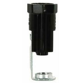 "Socket; Candelabra; 1/8 IP Hickey with 4"" flange"