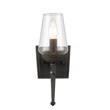 Golden 1208-1W DNI - 1 Light Wall Sconce