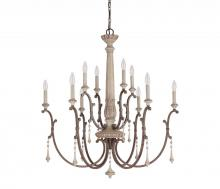 Capital 4090FO - 10 Light Chandelier
