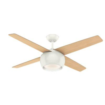 "54"" Ceiling Fan with Light with Wall Control"