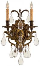 Minka Metropolitan n2414 - Antique Bronze Patina Clear Glass Wall Light