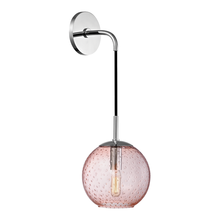 Hudson Valley 2020-PC-PK - 1 Light Wall Sconce-Pink Glass