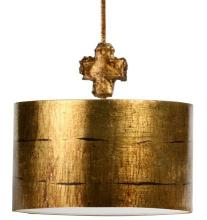"Flambeau Lighting PD1052G-S - ""Fragment"" Small Gold Pendant"