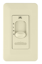 Fanimation CW3LA - WALL CONTROL FAN ONLY (2-SPD/NON-REV): LIGHT ALMOND