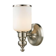 ELK Lighting 11580/1 - Bristol Way 1 Light Vanity In Brushed Nickel And